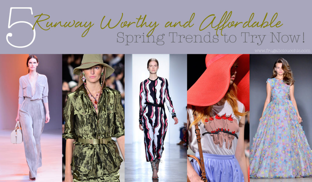 2015 Fashion Spring Trends